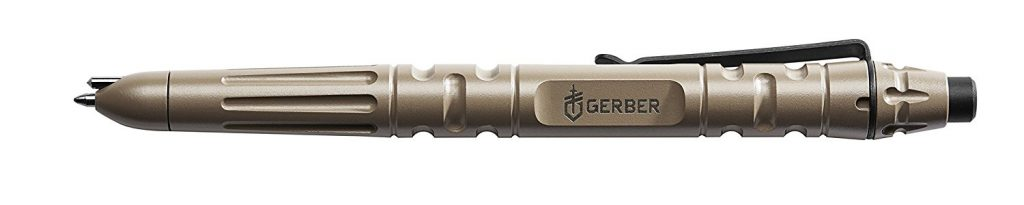 "Part of the 4 best self defense tactical pens for sale on Amazon is this earth ""Gerber Impromptu""."