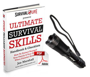 HyBeam Tactical Flashlight+Ultimate Survival Skills eBook